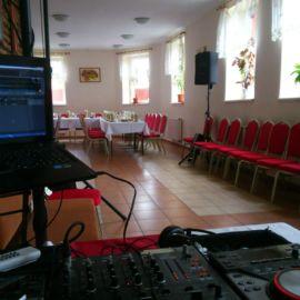 DJ zvuková aparatúra, rodinná oslava 50tky v penzióne Slávia v Poprade