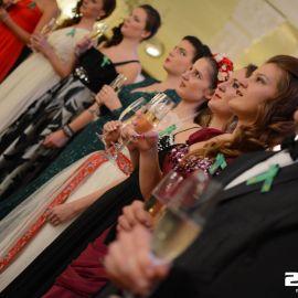 Oficiálna časť stužkovej slávnosti v Grand Hoteli Praha v Tatranskej Lomnici