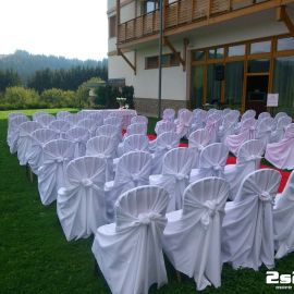 Ozvučenie svadobného obradu, exteriér v Hotel Residence , Donovaly