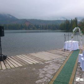 DJ na svadbu, svadobný obrad ozvučenie v Hotel Solisko v Štrbské pleso, Vysoké Tatry