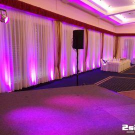 DJ na luxusnú svadbu, dekoračné osvetlenie v Grand Hotel Bellevue Horný Smokovec