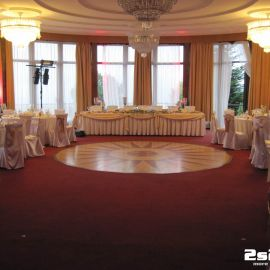 DJ na luxusnú svadbu a príprava osvetlenia v Grand Hoteli v Starom Smokovci