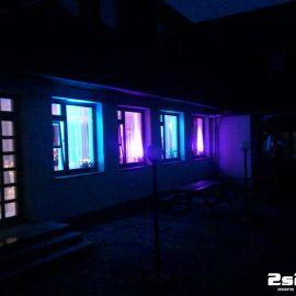 DJ a dekoračné osvetlenie na svadbu v hoteli Autis v Dolnom Smokovci