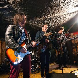 Ozvučenie koncertu kapely The Kowal Chicks v Poprade